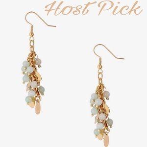 Express Jewelry - 💝HP 3-17-17💝Beaded Cluster Earrings 💝