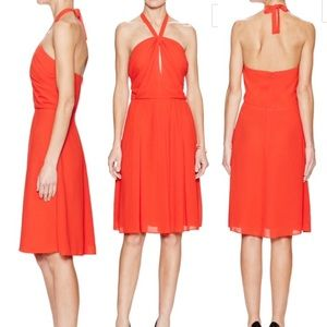L'AGENCE Dresses & Skirts - L'agence red halter dress