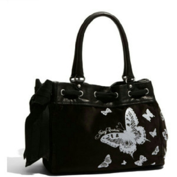 Juicy Couture 'Butterfly Daydreamer Velour Tote