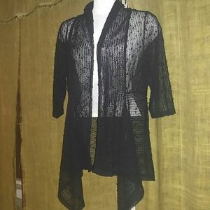 Other - Lady's, Black, Coverlet, with Black Sequin Accents