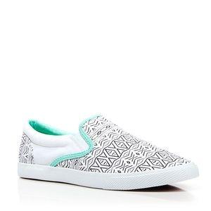 Buckefeet 'Tambourine' Slip On Sneakers 9 $68