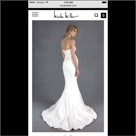 50 off nicole miller dresses skirts bnwt in shipping for Wedding dress shipping box