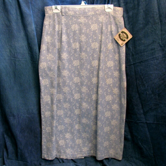 Willowbend Skirts - (3/$23) New Size 16 Sky Blue Denim Skirt