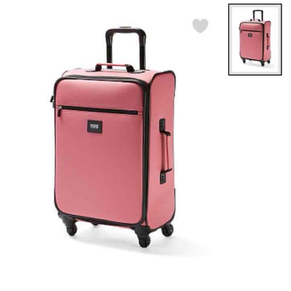 PINK Victoria's Secret - Victoria secret pink begonia luggage set ...