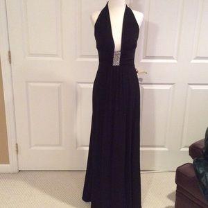Nightway Dresses & Skirts - Beautiful black halter dress.