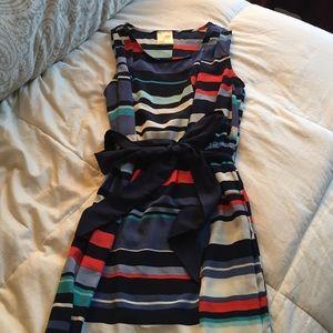Boutique Brand Dress with Sash Waist Tie
