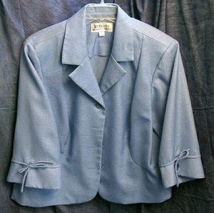 (3/$23) Size 20WP Blue Blazer