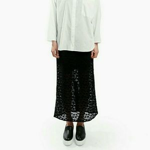 Steven Alan Dresses & Skirts - Sale price! Toit Volant black lace skirt