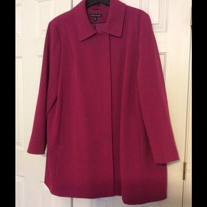 preston & York Jackets & Blazers - Beautiful Hot Pink coat