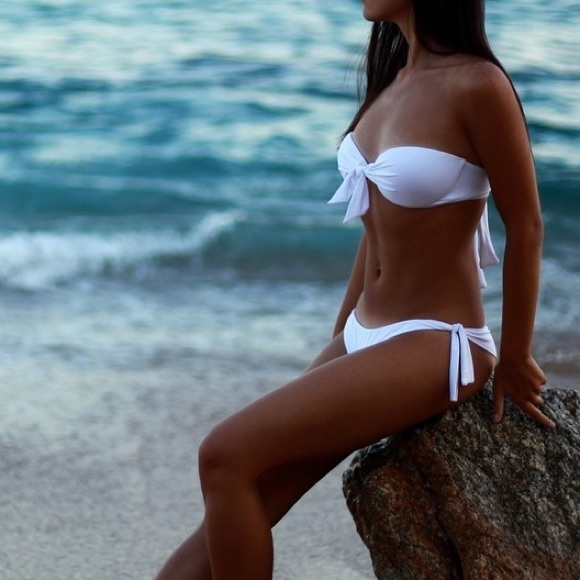 93d24db60f0d Calzedonia White Bikini