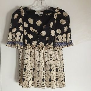 Tibi Tops - Tibi silk blouse- size 2