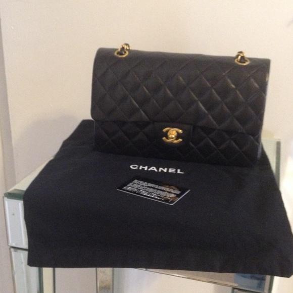 d9829d356ddc CHANEL Bags | Ml Vintage Black Classic Flap Bag | Poshmark