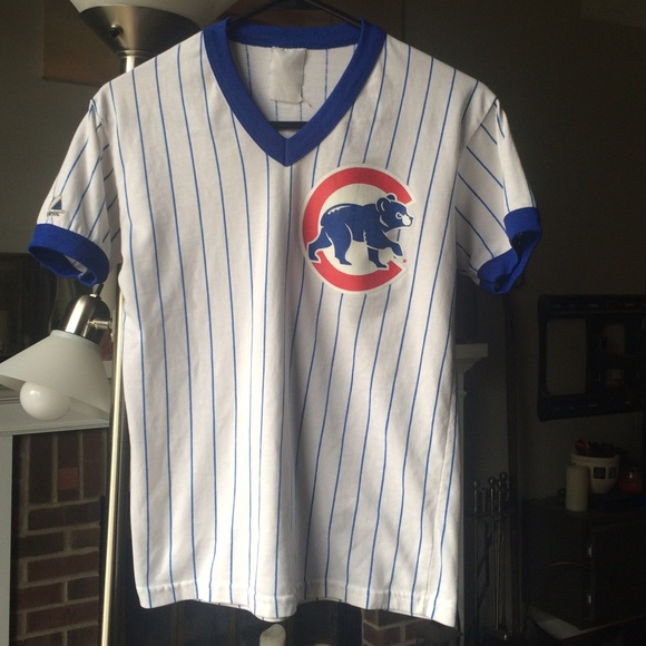 67f7213f Majestic Tops | Old School Vintage Chicago Cubs Baseball Tee | Poshmark