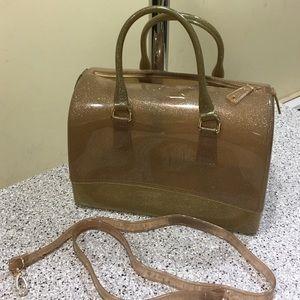 GLITTER TRANSPARENT BAG  