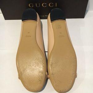 21071eef2fd Gucci Shoes - Authentic Gucci nude flats. Size EU 39.