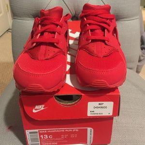 Nike University Red Huarache Preschool