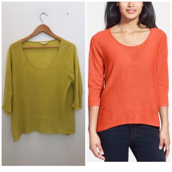 2ec9ad7bb78 Eileen Fisher Tops - Eileen fisher Scoop Neck Linen Sweater