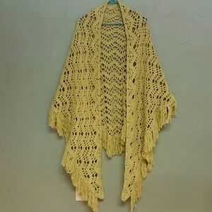 Vintage Handcrafted shawl