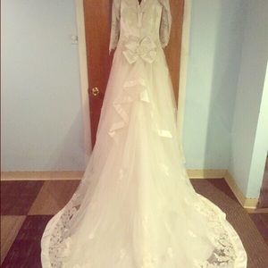 Gloria vanderbilt dresses on poshmark for Gloria vanderbilt wedding dress