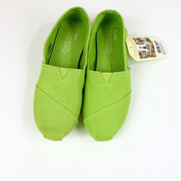 online store cb547 73d73 TOMS Lime Green Women s (7.5). M 57ed66052ba50ae06d01ecdf