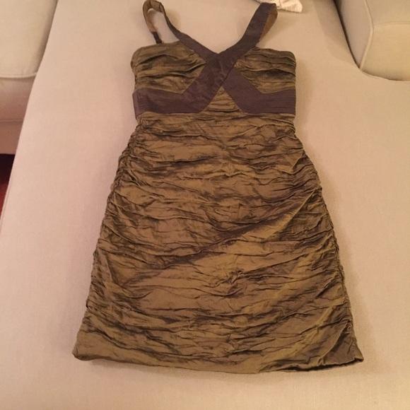 BCBGMaxAzria Dresses & Skirts - Green BCBG MaxAzaria dress.