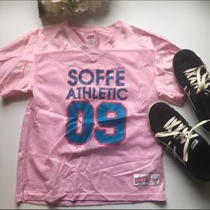 Soffe Other - Soffe // Football Jersey - pink