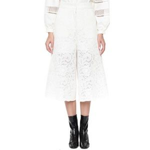 Off white culotte pants