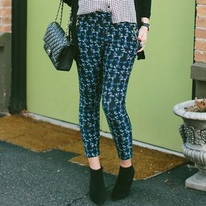 Ross Pants - Blue Dye Skinny Pant