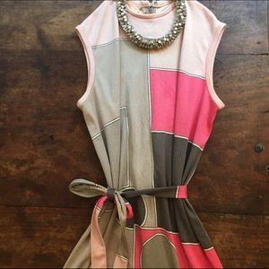 RARE 1970's Paganne geometric dress