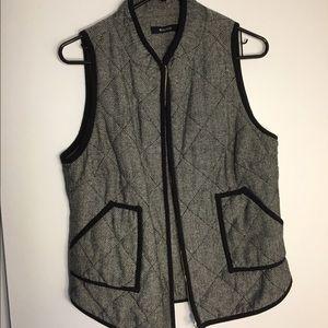 Jackets & Blazers - Tweed vest