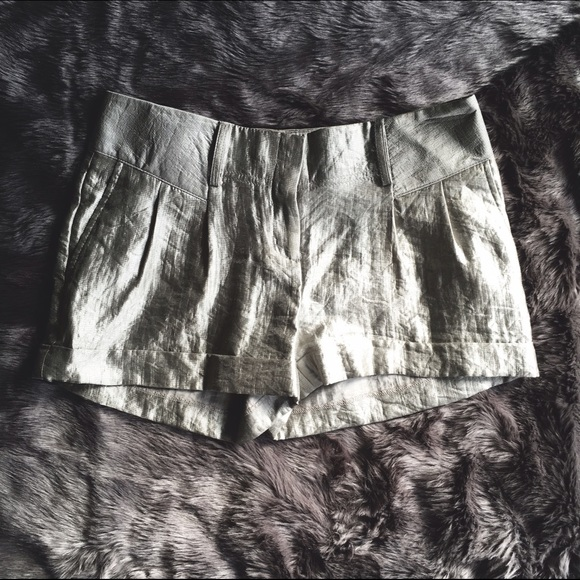 Express Shorts - Express Metallic Shorts