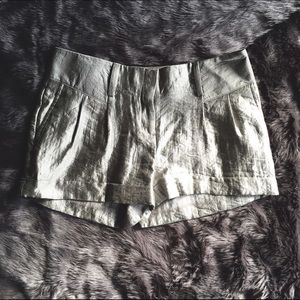 Express Shorts - Express Metallic Shorts