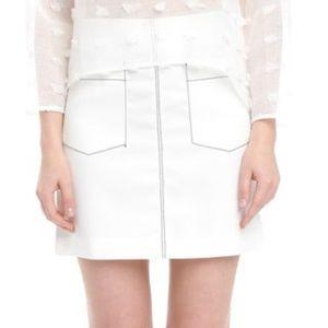 Style Mafia Dresses & Skirts - White fitted skirt