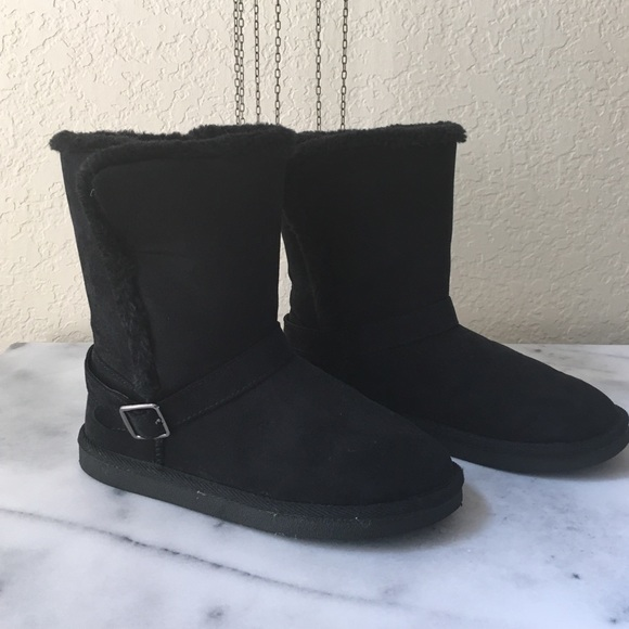 67% off Mossimo Supply Co. Other - Girls ugg like boots black from ...