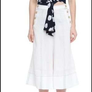 Style Mafia Pants - culottes style pants with contrast stitching