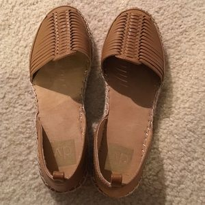 Tan espadrilles sandals/slippers from DV