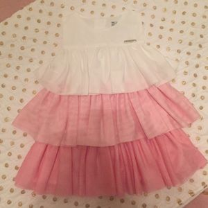 Mayoral Other - Pink and White Mayoral Ruffle Dress (18 month)