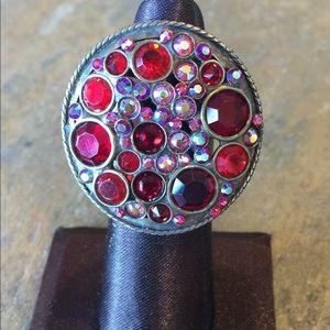 "Sorrelli Jewelry - Sorrelli ""Cranberry"" Ring"