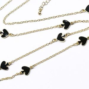 kate spade Jewelry - LAST 1! kate spade ♠️ black gold long necklace