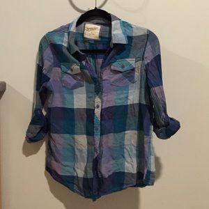 Arizona Jean Company Tops - Arizona plaid shirt