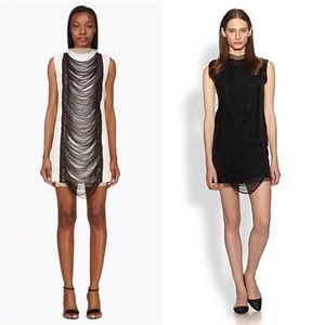 J.W. Anderson Dresses & Skirts - ❤️J.W Anderson Black Fringe Shift Dress