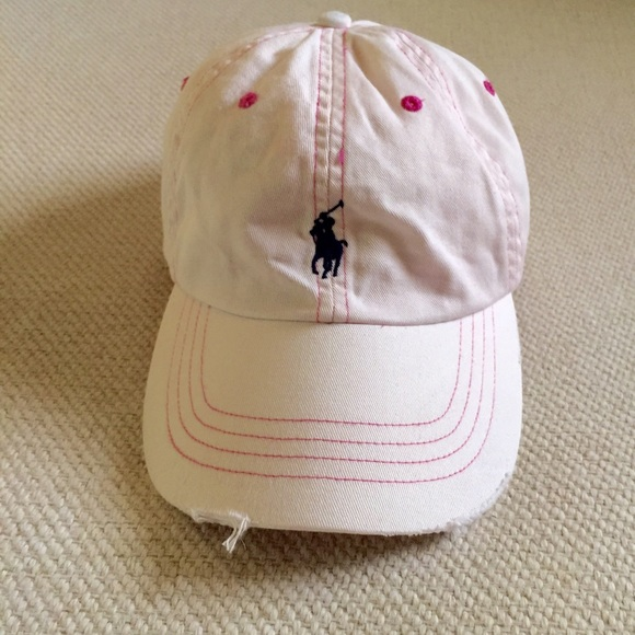 Distressed Polo baseball cap. M 57eda2b47fab3a7ad70271e8 748fbe52620