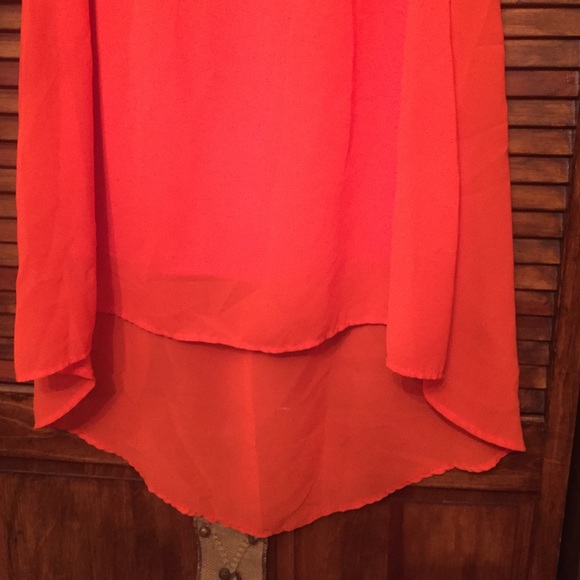 60 cato dresses skirts s orange high low