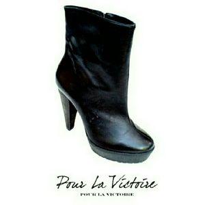 Pour la Victoire Shoes - 💕HP💕POUR  LA VICTORIE 💕MADE IN BRAZIL LTHR OOTS