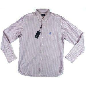 Psycho Bunny Other - PSYCHO BUNNY Long Sleeve Striped Shirt Size XL
