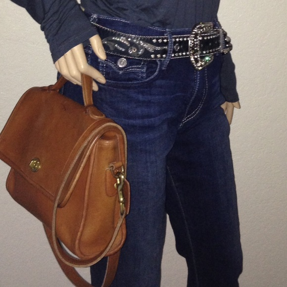 ... Coach Bags - Vintage Made in USA Coach CrossBody Court Bag 9870 ... ed3e28189ccee