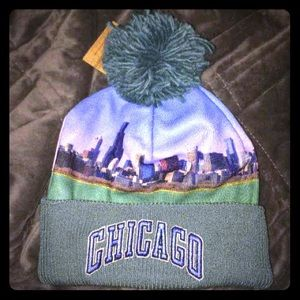BNWT Mitchell & Ness Chicago Beanie