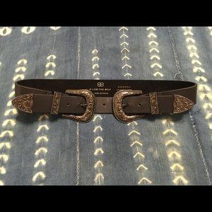 B-Low the Belt Accessories - b-low the belt bri bri gunmetal size medium