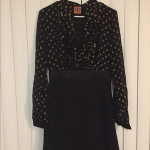 Tory Burch black/gold dress