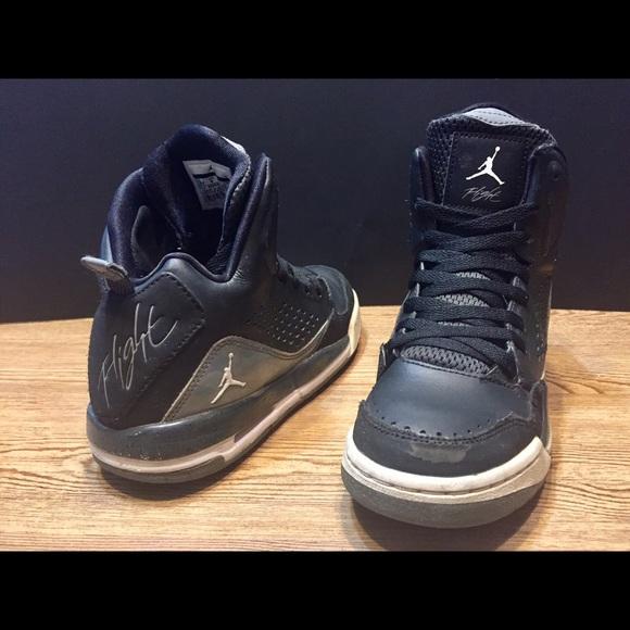 buy popular 7d4cd d8f89 Jordan Other - Nike Air Jordan Flight Shoes! Size 4.5Y - Black!